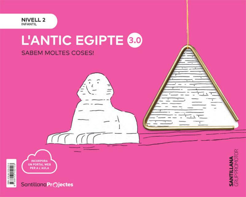4 ANYS - NIVELL II - L'ANTIC EGIPTE (CAT) - SABEM MOLTES 3.0