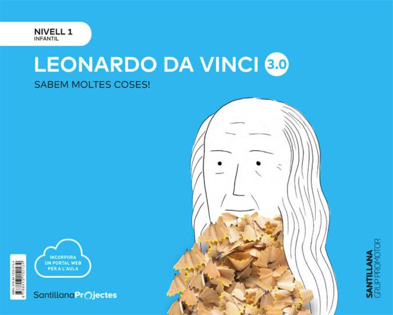 3 Anys - Nivell I - Leonardo Vinci (cat) - Sabem Moltes 3.0 - Aa. Vv.