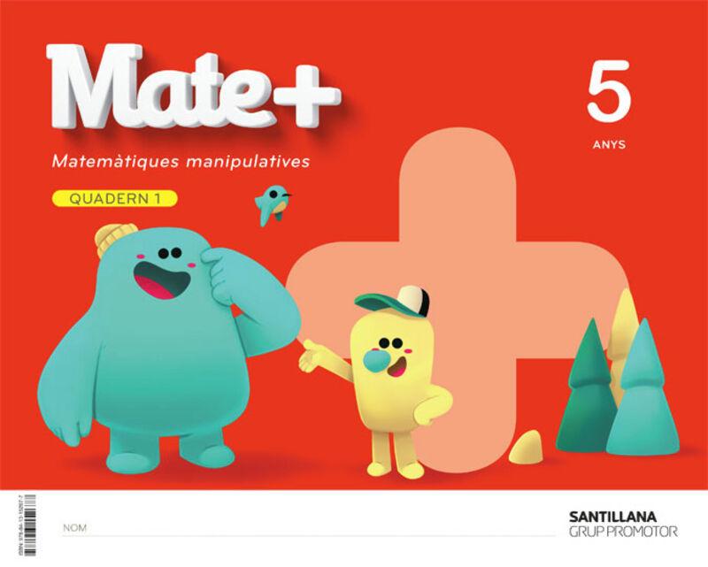 5 Anys - Matematiques Quad (cat) - Mate+ - Aa. Vv.
