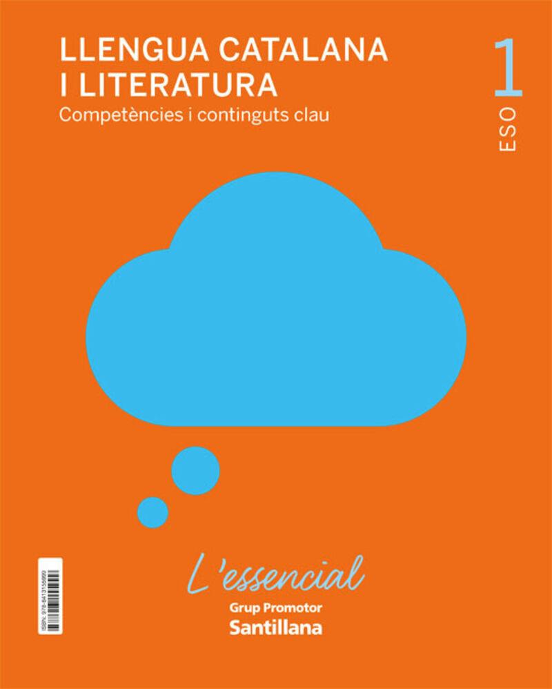 ESO 1 - LLENGUA I LITERATURA CATALA (CAT) - L'ESSENCIAL