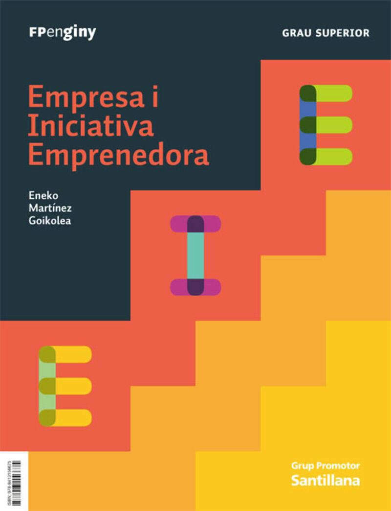 GS - EIE - EMPRESA I INICIATIVA EMPRENEDORA (CAT) - INGENIO