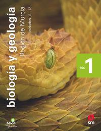 ESO 1 - BIOLOGIA Y GEOLOGIA (MUR) - SECUNDARIA 2020