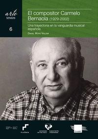 COMPOSITOR CARMELO BERNAOLA, EL (1929-2002) - UNA TRAYECTORIA EN LA VANGUARDIA MUSICAL ESPAÑOLA