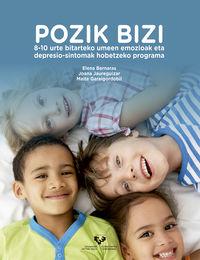 POZIK BIZI - 8-10 URTE BITARTEKO UMEEN EMOZIOAK ETA DEPRESIO-SINTOMAK HOBETZEKO PROGRAMA