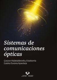 SISTEMAS DE COMUNICACIONES OPTICAS
