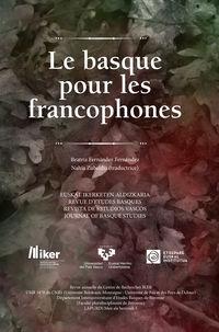 BASQUE POUR LES FRANCOPHONES