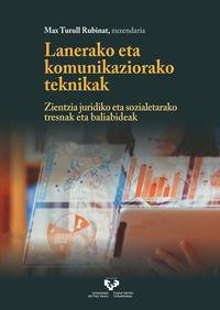 lanerako eta komunikaziorako teknikak - Max Turull Rubinat (ed. )