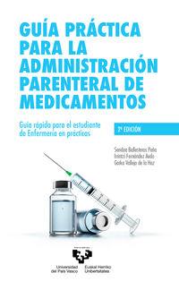 GUIA PRACTICA PARA LA ADMINISTRACION PARENTERAL DE MEDICAMENTOS