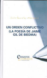 ORDEN CONFLICTIVO, UN