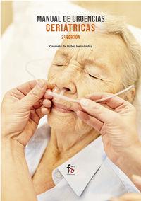 (2 Ed) Manual De Urgencias Geriatricas - Carmela De Pablo Hernandez