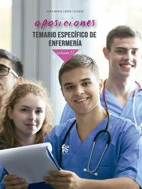 temario especifico 2 - enfermeria - Aina Maria Cerda Alenya