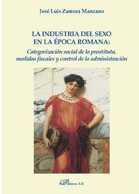 INDUSTRIA DEL SEXO EN LA EPOCA ROMANA - CATEGORIZACION SOCIAL DE LA PROSTITUTA, MEDIDAS FISCALES Y CONTROL DE LA ADMINISTRACION
