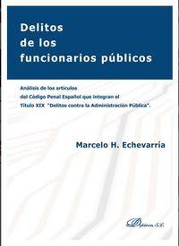DELITOS DE LOS FUNCIONARIOS PUBLICOS