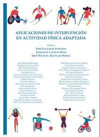 APLICACIONES E INTERVENCION EN ACTIVIDAD FISICA ADAPTADA