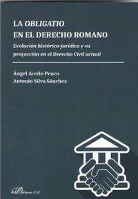 OBLIGATIO EN EL DERECHO ROMANO, LA