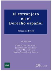 (3 ED) EXTRANJERO EN EL DERECHO ESPAUOL, EL
