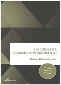 (4 ED) LECCIONES DE DERECHO ADMINISTRATIVO