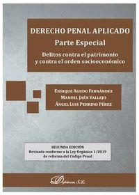 (2 ED) DERECHO PENAL APLICADO - PARTE ESPECIAL - DELITOS CONTRA EL PATRIMONIO