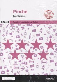 CUESTIONARIOS - PINCHE (SERMAS) - SERVICIO MADRILEÑO DE SALUD
