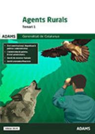 Temari 1 - Agents Rurals - Generalitat De Catalunya - Aa. Vv.