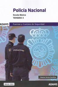 TEMARIO 3 - POLICIA NACIONAL - ESCALA BASICA