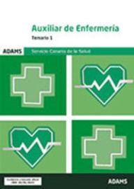 TEMARIO 1 - AUXILIAR DE ENFERMERIA (SCS) - SERVICIO CANARIO DE SALUD