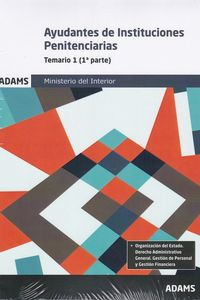 TEMARIO 1 - AYUDANTES DE INSTITUCIONES PENITENCIARIAS