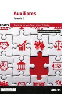 TEMARIO 1 - AUXILIARES - ADMINISTRACION GENERAL DEL ESTADO