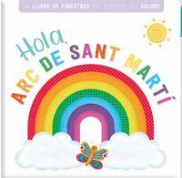 HOLA, ARC DE SANT MARTI - LLIBRE AMB FINESTRETES
