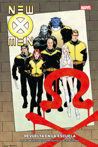 NEW X MEN 4 - REVUELTA EN LA ESCUELA