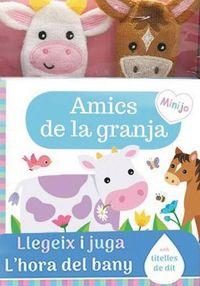 AMICS DE LA GRANJA - LLIBRE DE BANY TITELLES DE DIT