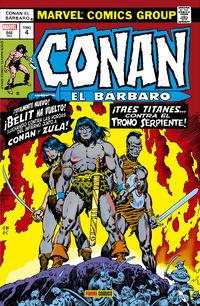 CONAN EL BARBARO 4 - LA ETAPA MARVEL ORIGINAL
