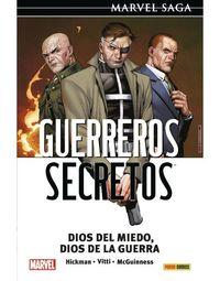 marvel saga 119 - guerreros secretos 2 - dios del miedo, dios de la guerra - Jonathan Hickman / Alessandro Vitti / Ed Mcguinness