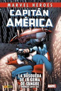 CAPITAN AMERICA DE MARK GRUENWALD 3 - LA BUSQUEDA DE LA GEMA DE SANGRE
