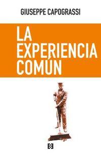 EXPERIENCIA COMUN, LA - ANALISI DELL'ESPERIENZA COMUNE