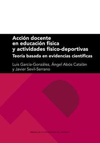 ACCION DOCENTE EN EDUCACION FISICA Y ACTIVIDADES FISICO-DEPORTIVAS - TEORIA BASADA EN EVIDENCIAS CIENTIFICAS