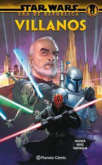 star wars era de la republica: villanos (tomo) - Jody Houser