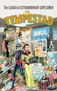 league of extraordinary gentlemen, the - la tempestad - Alan Moore / Kevin O'neill