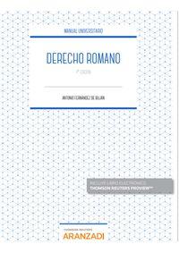 (4 ED) DERECHO ROMANO