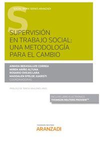 SUPERVISION EN TRABAJO SOCIAL - UNA METODOLOGIA PARA EL CAMBIO (DUO)