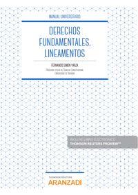 JURISDICCION CONSTITUCIONAL Y DERECHOS FUNDAMENTALES LINEAMENTOS