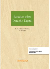 estudios sobre derecho digital (duo) - Rafael Perea Ortega (ed. )