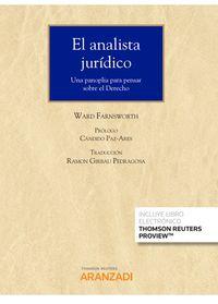 Analista Juridico, El (duo) - Ward Farnsworth