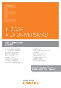 JUZGAR A LA UNIVERSIDAD (DUO)