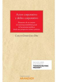 ACTOR CORPORATIVO Y DELITO CORPORATIVO (DUO)