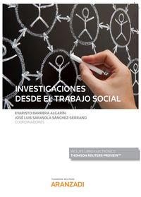 INVESTIGACIONES DESDE EL TRABAJO SOCIAL (DUO)