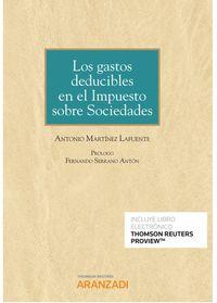 GASTOS DEDUCIBLES EN EL IMPUESTO SOBRE SOCIEDADES, LOS (DUO)