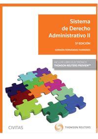 (5 ED) SISTEMA DE DERECHO ADMINISTRATIVO II (DUO)