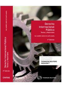 (4 ED) DERECHO INTERNACIONAL PUBLICO TEXTOS Y MATERIALES (DUO)