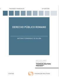 (23 ED) DERECHO PUBLICO ROMANO (DUO)
